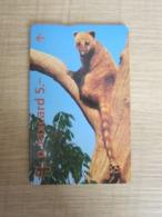 L&Gyr Phonecard, CN:503L,Compliment Card,Coati,mint - Suisse