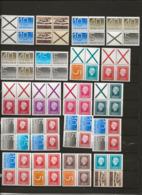 Timbre- De Carnets-TypeCrouwel,Delta Et Reine -Blocs De 4.. - Libretti