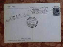 REPUBBLICA - Marcofilia - Estate Aostana 1958 - Disegno Franco Balan + Spese Postali - F.D.C.