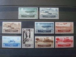 ITALY 1933  AIR MAIL 69/77 MNH** COT.150 EUR MEDAGLIE AL VALORE MILITARE - 1900-44 Victor Emmanuel III