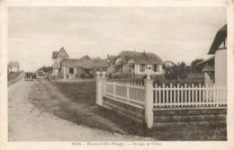 CPA 50 Manche Hauteville Sur Mer Groupe De Villas - Autres Communes