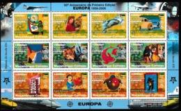 Europa Cept - 2006 - Mozambique - 1.Sheetlet Of Complete Set ** MNH - Europa-CEPT