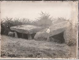 AVRILLE  - Le Dolmen. Photo Robuchon Fin 19 ème  Format 18x 24 - Frankrijk