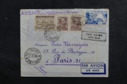 VIETNAM - Enveloppe De Hai Duong ( Viêtnam Du Nord )  Pour Paris En 1958 , Affranchissement Plaisant -  L 48059 - Viêt-Nam