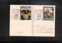 Paraguay 1974 World Football Cup Germany Interesting Cover - Fußball-Weltmeisterschaft
