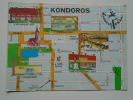 D169372 Map Carte  Hungary- KONDOROS 1977 - Landkaarten