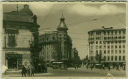 ROMANIA - BUCURESTI - PODUL IZVOR - FOTO ORIGINALA REPR. OPRITA IFA. 1930s - POOR CONDITION - (BG6008) - Romania