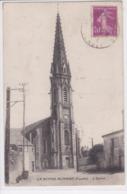 85 LA MOTHE ACHARD L'Eglise Envoyé à Mr L'Abbé Bois Curé à Port Marly - La Mothe Achard