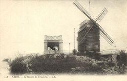 CPA Paris 18e (Dep. 75) Le Moulin De La Galette (82608) - Paris Bei Nacht