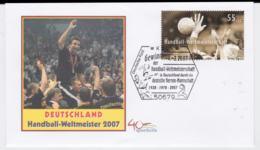 Germany Cover Köln 2007 Germany Champion - Handball World Championship (G105-13) - Balonmano