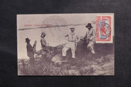 CONGO - Carte Postale - Chasse à L ' Éléphant - Voyagé En 1910 - L 48065 - French Congo - Other
