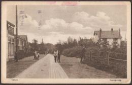 Velsen - Koningsweg Met Kinderen - 1926 - Sonstige