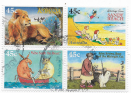 1996 Australian Children's Books Set Se-tenant FU - 1990-99 Elizabeth II