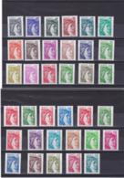 FRANCE 1977-1981 SABINE NEUF** MNH Cote : 31 Euros - Francia