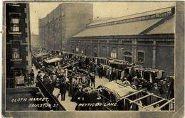 PC JUDAICA Cloth Market, Goulston St. Petticoat Lane (a1186) - Jodendom