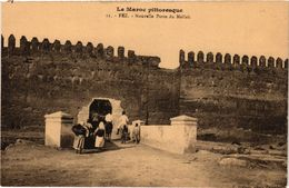 PC JUDAICA Fez - Nouvelle Porte Du Mellah (a1191) - Jodendom