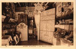 PC JUDAICA Musée Alsacien - La Salle Juive (a1201) - Jodendom