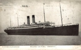 R.M.S. Adriatic  White Star Line - Paquebot  SS SUFFREN NEW YORK HAVRE SERVICE - Passagiersschepen