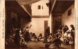 PC JUDAICA ART Ferdinand-Victor-Eugéne Delacroix - Noce Juive Au Maroc (a1214) - Jodendom
