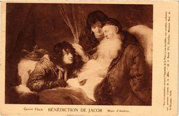 PC JUDAICA ART Govert Flinck - Bénédaction De Jacob (a1215) - Jodendom