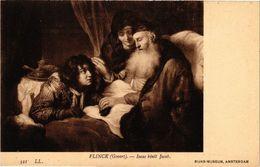 PC JUDAICA ART FLinck (Govert) - Isaac Bénit Jacob (a1219) - Jodendom