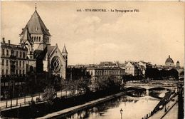 PC JUDAICA SYNAGOGUE Strasbourg - La Synagogue Et L'Ill (a1251) - Jodendom