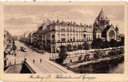 PC JUDAICA SYNAGOGUE Straßburg I.E. Kleberstaden Und Synagoge (a1255) - Jodendom