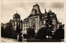 PC JUDAICA SYNAGOGUE La Chaux-de-Fonds - Controle Fédéral Et Synagogue (a1261) - Jodendom