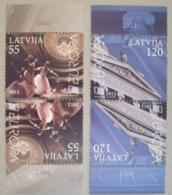 Lettland   Europa  Cept    Besuchen Sie Europa  2012  ** - Europa-CEPT