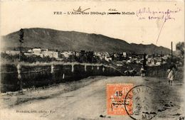 PC JUDAICA Fez - L'Allée De Dar Dbibagh Au Mellah (a1272) - Jodendom