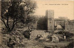 PC JUDAICA Fez - Remparts Du Mellah - Bab Lahmer (a1274) - Jodendom