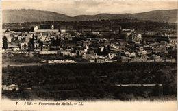 PC JUDAICA Fez - Panorama Du Mellah (a1275) - Jodendom