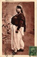 PC JUDAICA JEWISH TYPES Femme Juive En Costume D'Intérieur (a1294) - Jodendom