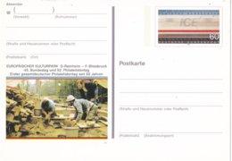 Duitsland - 10 Oktober 1991 - Sonderpostkarte - Bundes- Und Philatelistentag, Saarbrücken - M Pso 24 - [7] West-Duitsland