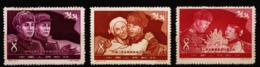 A6423) PR China 1958 Mi.413-415 Unused MNH - Unused Stamps
