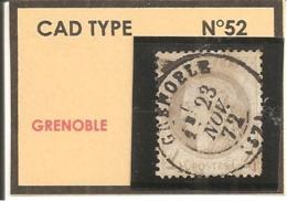 Y&T N°52  CLASSIQUE - 1871-1875 Cérès