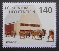 Liechtenstein   Europa  Cept    Besuchen Sie Europa  2012  ** - 2012