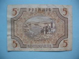 Billet De 5 Pfennig - Pays Du Rhin - 1947 - 1945-1949: Alliierte Besatzung