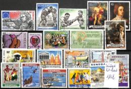 [830423]TB//O/Used-Sénégal  - Lot Obl/Used, Sports, Boxe, Peintures & Tableaux, Sports, Culture - Sénégal (1960-...)