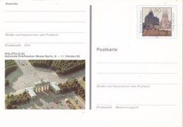 Duitsland - 9 Oktober 1992 - Sonderpostkarte - PHILATELIA '92 In Berlin - M Pso 28 - [7] West-Duitsland