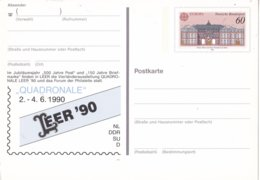 Duitsland - 3 Mei 1990 - Sonderpostkarte - QUADRONALE LEER '90 - M Pso 21 - [7] West-Duitsland