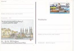 Duitsland - 9 April 1992 - Sonderpostkarte - Briefmarkenbörse Theinland-Pfalz In Koblenz - M Pso 26 - [7] West-Duitsland