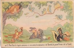 Walt-Disney Les Aventures De BAMBI N° 1 - Disneyland