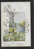 AK 0367  Idylle Im Frühling - Künstlerkarte Um 1901 - Blumen