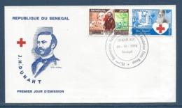 Sénégal - FDC - Premier Jour - Dakar - Croix Rouge - J. Dunant - 1978 - Senegal (1960-...)