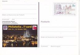 Duitsland - 14 Oktober 1993 - Sonderpostkarte - Internationale Messe PHILATELIA Mit T'CARD, Köln - M Pso 31 - [7] West-Duitsland