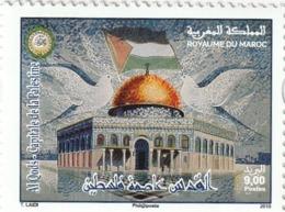 Timbre  2019. Al Qods - Capitale De La Palestine. - Marruecos (1956-...)