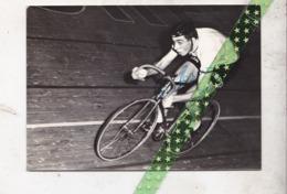 Originele Foto, Wielrenner Patrick Sercu, Gesigneerd, Met Handtekening, Piste - Cyclisme