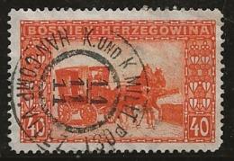 Bosnie-Herzégovine 1906 N°Y.T. : 39 Obl. - Bosnien-Herzegowina