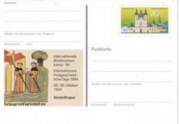 Duitsland - 13 Oktober 1994 - Sonderpostkarte - Internationale Briefmarkenbörse '94, Sindelfingen - M Pso 36 - [7] West-Duitsland